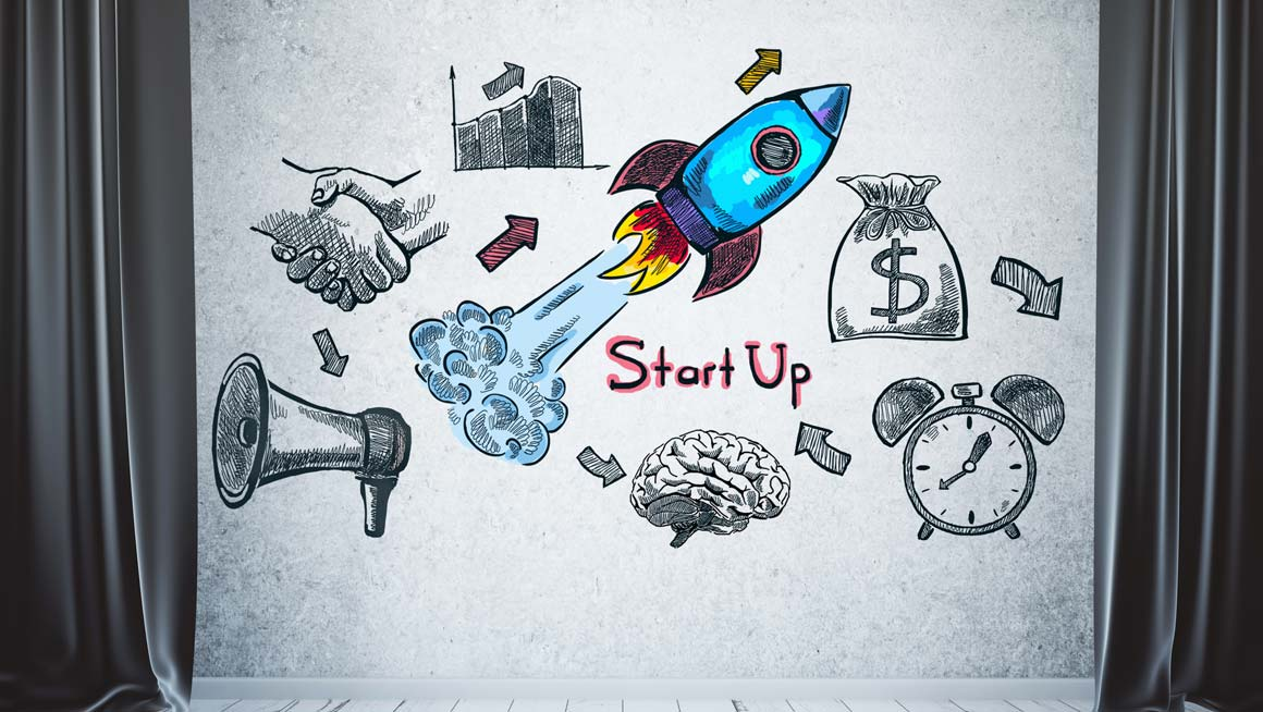 Start-up illustration