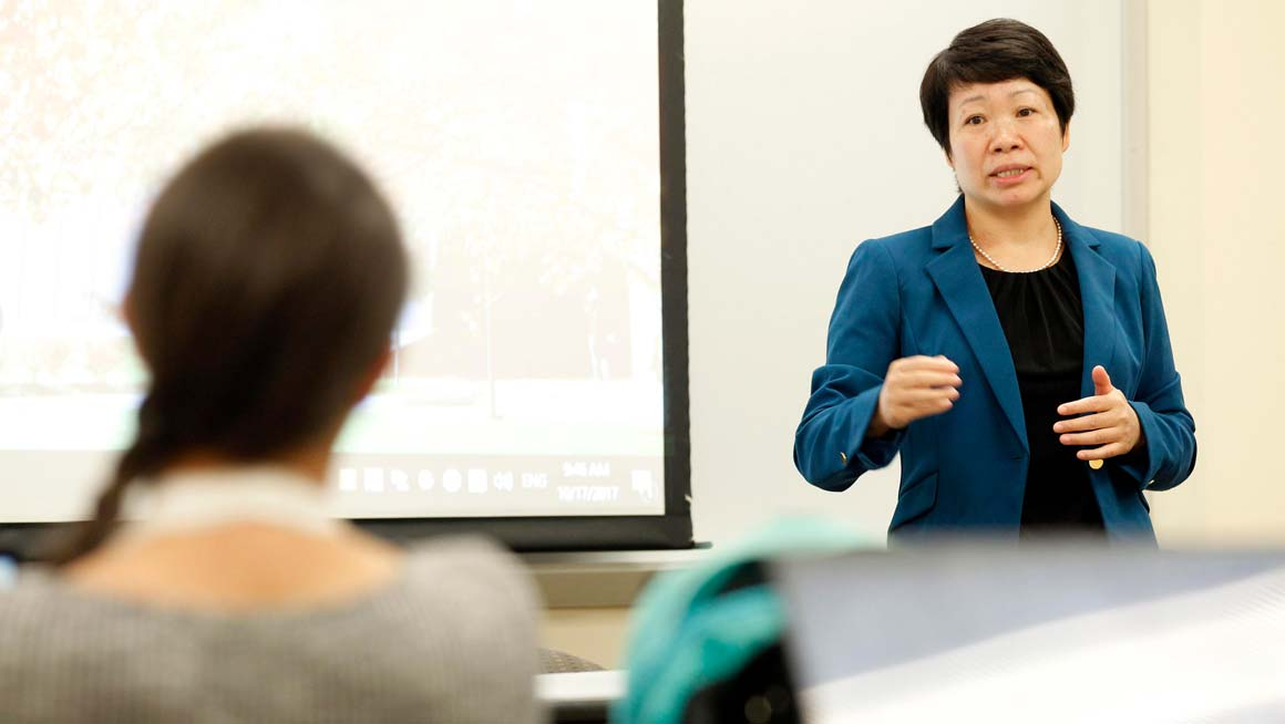 Suhong Li, Ph.D., Professor of Information Systems and Analytics