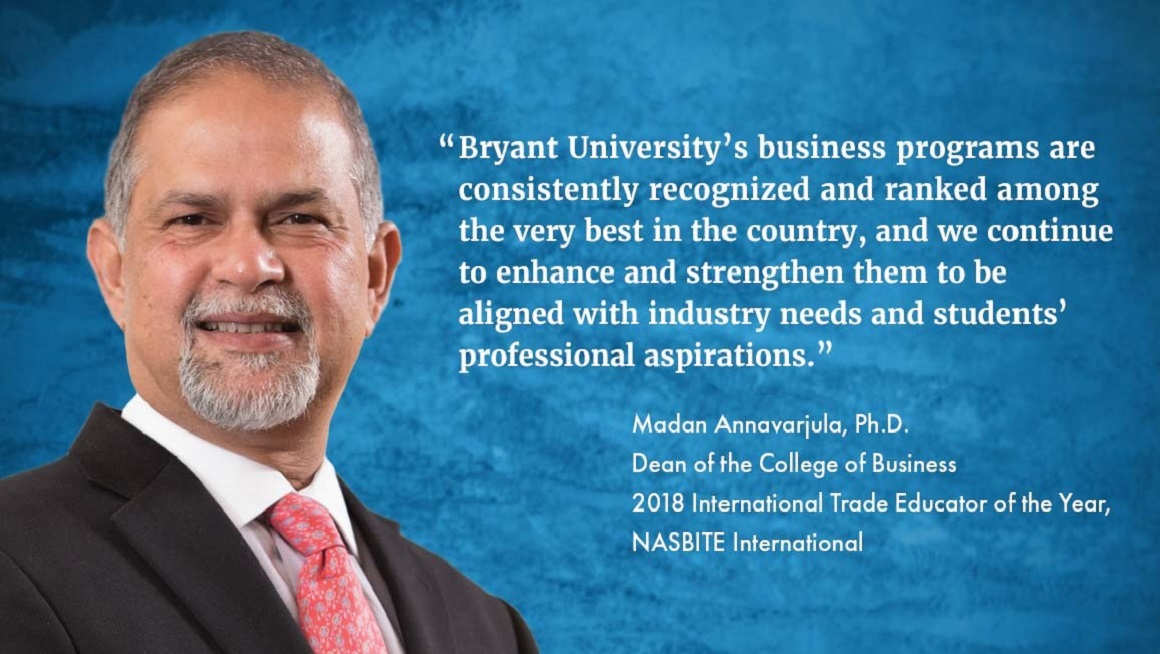 Madan Annavarjula, Ph.D., Dean College of Business