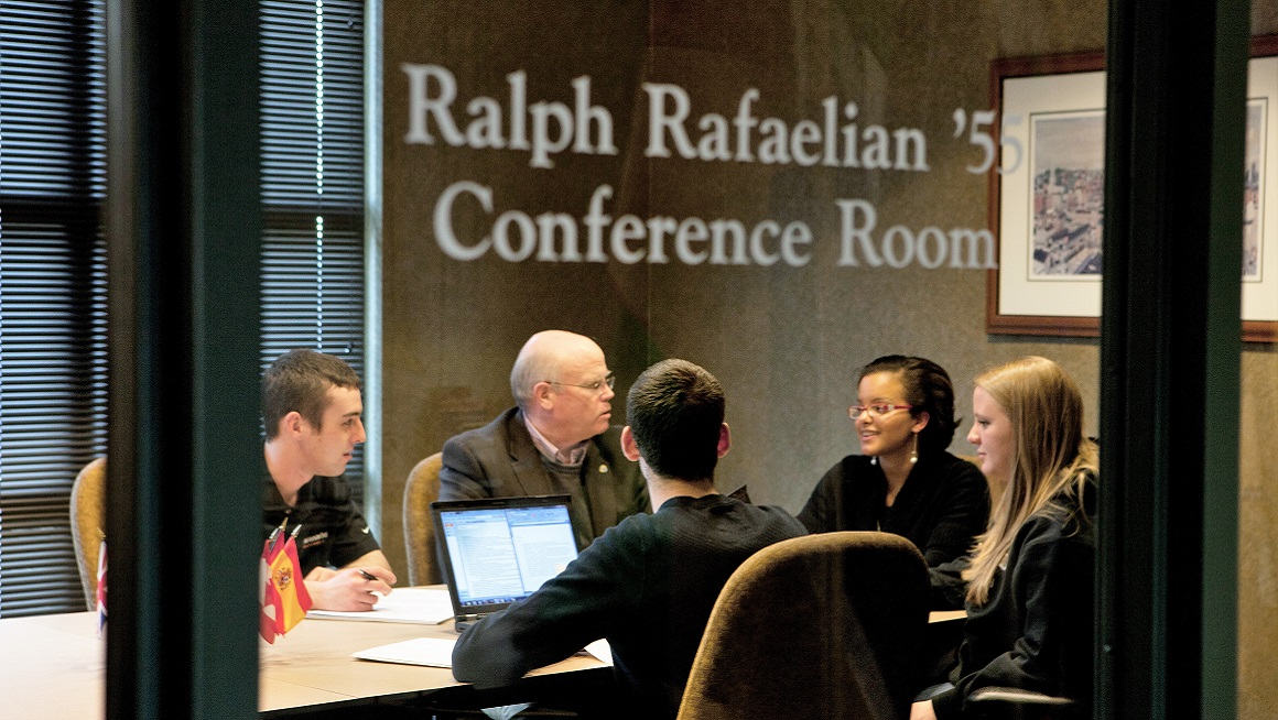 Raymond Fogarty '79, Executive Director of Bryant's Chafee Center for International Business