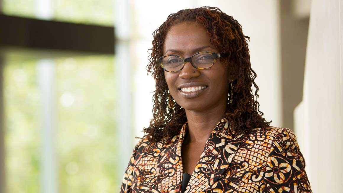 Professor of Management Eileen Kwesiga Ph.D.