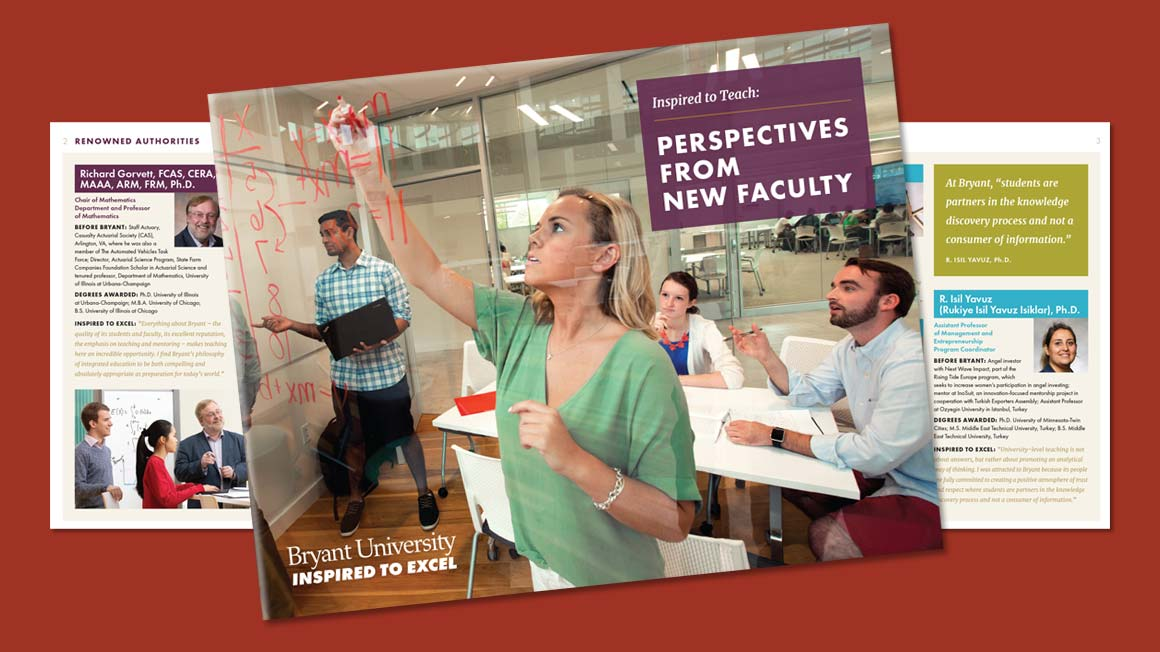 Faculty Perspectives Brochure
