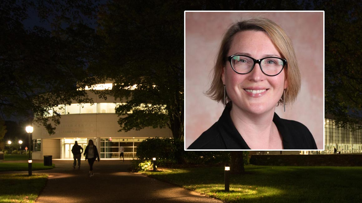 The Douglas and Judith Krupp Library, led by Director Laura Kohl, remains open for students remaining on campus and provides virtual services for students and faculty now engaged in distance learning because of the COVID-19 pandemic.