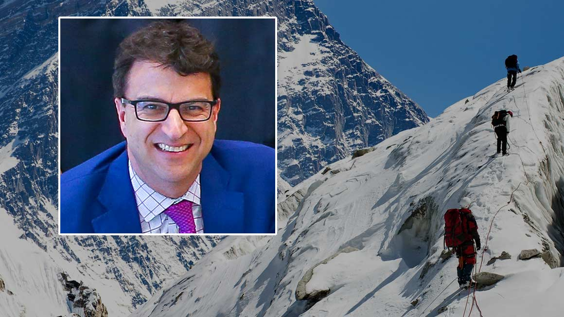 Professor Michael Roberto and Mount Everest